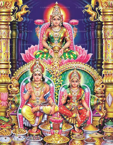 shree lakshmi and lord kubera swamy religious in 2018 gods lord hindu deities