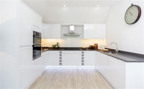 led light for kitchen guildford show flat by wn interiors 6926
