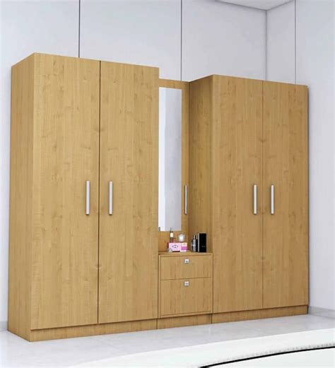 living room furniture sets buy five door wardrobe in maple finish in plpb by
