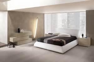 Modern master bedroom platform bed dali