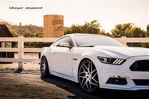 2015 Ford Mustang GT Fitted With 22 Inch BD-3's in Matte ...