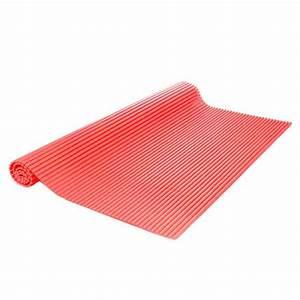 tapis salle de bain mousse 65x90 cm rouge With tapis de bain rouge