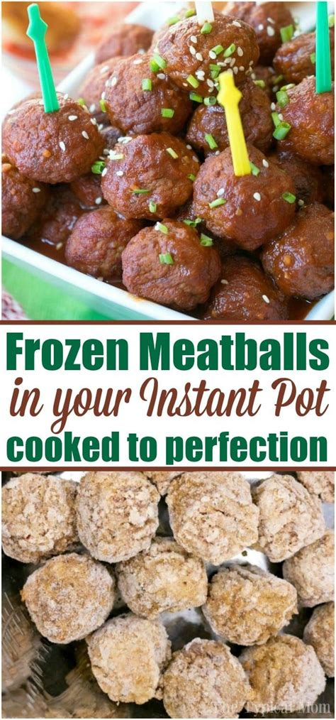 meatballs frozen cooker pressure pot instant cooked grape sweet meatball temeculablogs jelly recipe easy crockpot