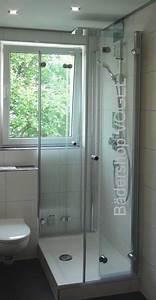 Duschkabine Mit Montageservice : duschabtrennung vor fenster in u form mit drehfaltt ren ma anfertigung duschabtrennung in u form ~ Buech-reservation.com Haus und Dekorationen
