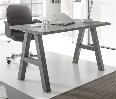 bureau 120cm bureau 120 cm mister office graphite sb meubles discount