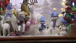 Christmas Gift Shop Window Display Stock Footage Video ...