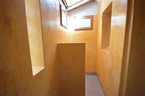salle de bain en tadelakt et b 233 ton cir 233 224 eoure 13011