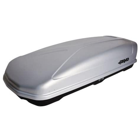 coffre de toit 400l coffre de toit farad koral 400l gris