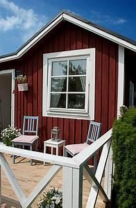 Gartenhaus Im Schwedenstil : sch nes gartenhaus im schwedenstil da kann der sommer ja kommen d ~ Markanthonyermac.com Haus und Dekorationen