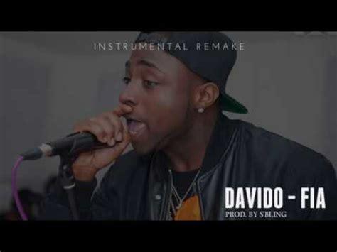 davido fia instrumental reprod  sbling youtube