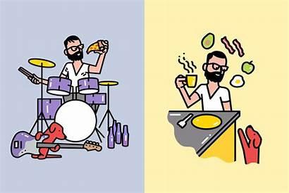 Creative Illustrations Interview Illustrator Illustration Daily Sam