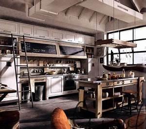 Küche Vintage Style : industrial inspired kitchen ideas google search k che industrial vintage k che und k che ~ A.2002-acura-tl-radio.info Haus und Dekorationen