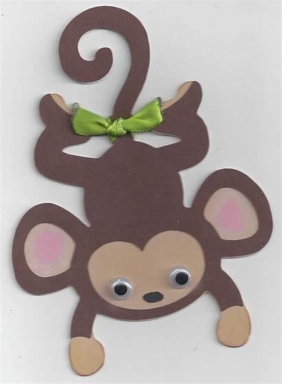 Monkey Craft Crafts Preschool Paper Template Idea