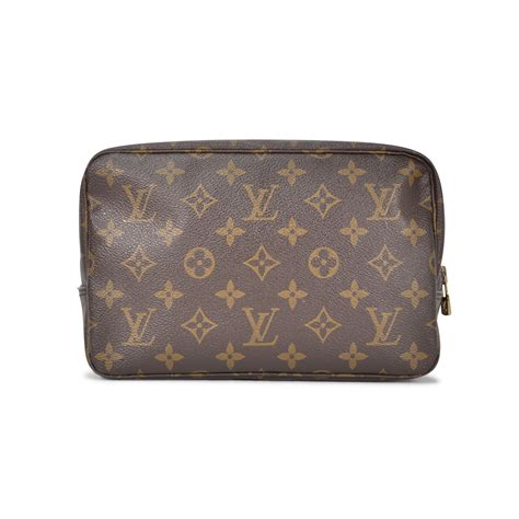 authentic vintage louis vuitton monogram toiletry bag tfc     collection