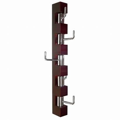 Rack Coat Wall Mounted Vertical Hooks Hanger