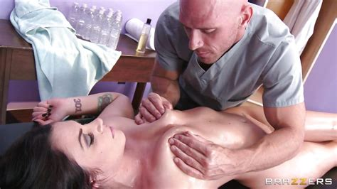 Andy San Dimas Johnny Sins In Massage Session Leading