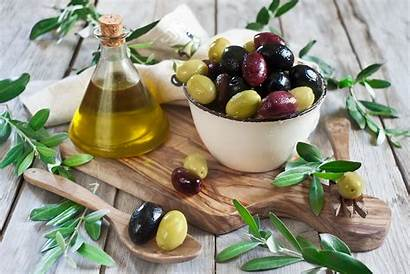 Olive Wallpapers Oil Olives Spoon Leaves Wallpapersafari