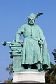 Statue Of St. Coloman In Melk Abbey, Austria Stock Photo ...