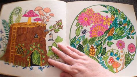 enchanted forest  johanna basford colouring book