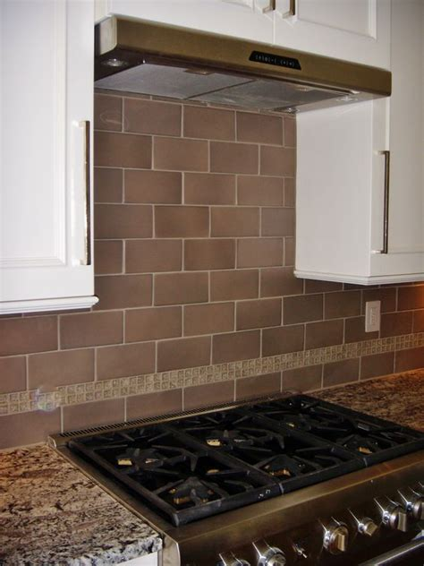 4x8 White Subway Tile Backsplash by 4x8 Porcelain Tile With Glass Crackle Accent At