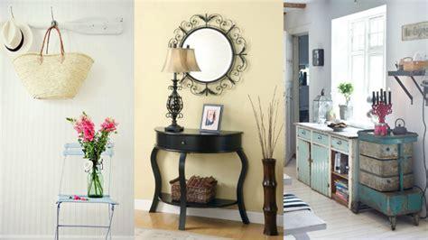 ideas  decorar la entrada  estilo vintage
