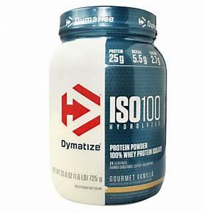 Amazon Com  Dymatize Iso 100 Whey Protein Powder With 25g Of Hydrolyzed 100  Whey Isolate