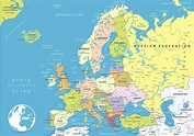 Europe Political Map | Map of Europe | Europe Map