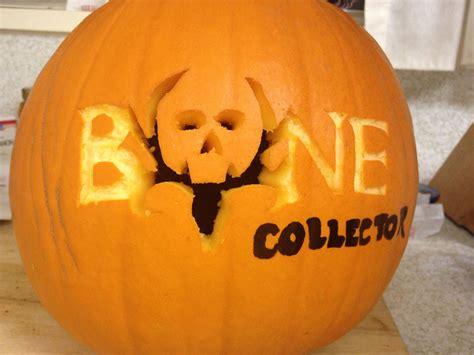 bone collector pumpkin pumpkin pumpkin carving fall decor