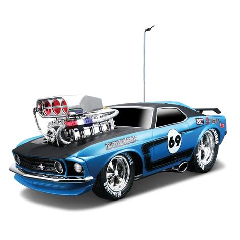 maisto muscle machines rc  ford mustang boss