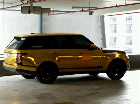 chrome range rover gold chrome range rover in singapore rice