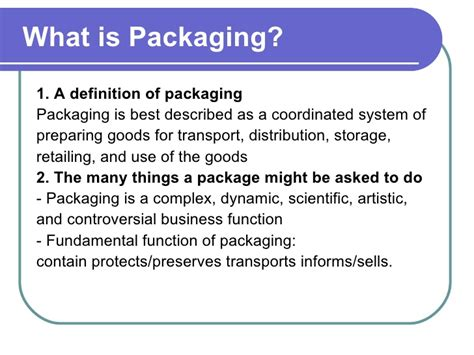 What Is The Best Definition Of A Functional Resume by Fundamentals Of Packaging Technology