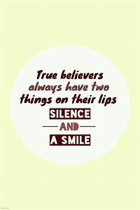 Quotes About Sm... Smile N Silence Quotes