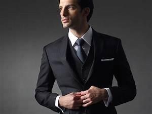 Costume 3 Pièces Gris : costume gris fonc 3 pi ces ~ Dallasstarsshop.com Idées de Décoration