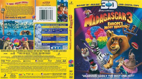madagascar  blu ray  dvd covers cover century