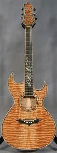 Roman Custom Acoustic Slim Double Cutaway Guitar - Ed ...