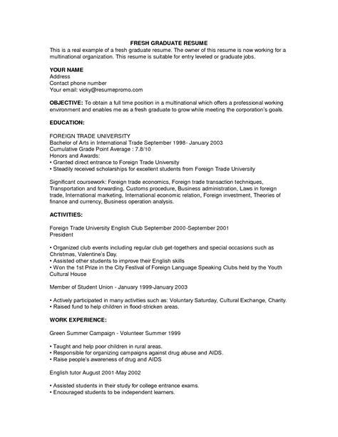 Leadership Resume Exles by Pin Oleh Jobresume Di Resume Career Termplate Free