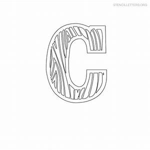 stencil letters c printable free c stencils stencil With letter stencils for wood