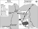 Map of the Elwha and Dungeness rivers, in northwestern ...