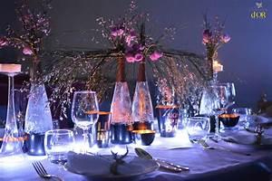 Nappe Rose Poudré : d coration cuivr d coration table de noel cuivr e et noir nappe rose poudr d coration tables ~ Teatrodelosmanantiales.com Idées de Décoration