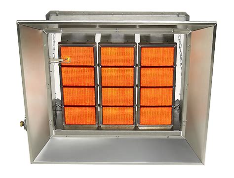 commercial industrial gas fired infrared space heaters