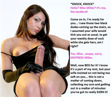 Landlord In Gallery She Makes Me Take Shemale Cock 7 Femdom Shemale Captions Picture 6