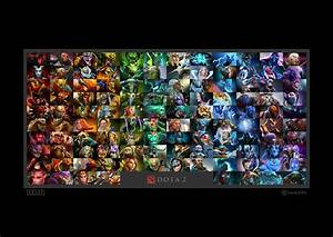 50 Beautiful DOTA 2 Posters Heroes Silhouette HD Wallpapers