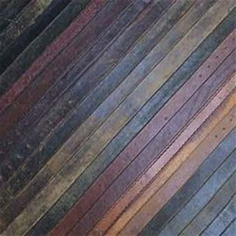 recycled leather tiles the steunk home leather flooring