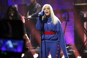"""Bebe Rexha Performs """"I Got You"""" On """"Late Night With Seth ..."""