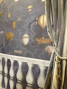 Fornasetti Papier Peint : cole son fornasetti ii collection wallpapers 39 balaustra 39 and 39 macchine volanti 39 at the ~ Melissatoandfro.com Idées de Décoration