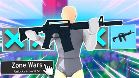 gun  zone wars strucid youtube