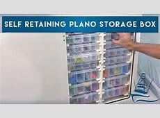 Self Retaining Plano Storage Box YouTube