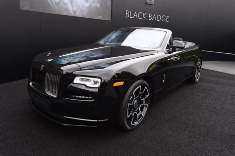Rolls Royce Dawn Black Badge Arrives At Goodwood Auto