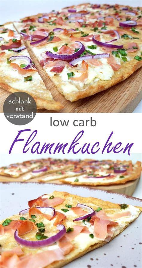flammkuchen low carb low carb rezepte schlankmitverstand