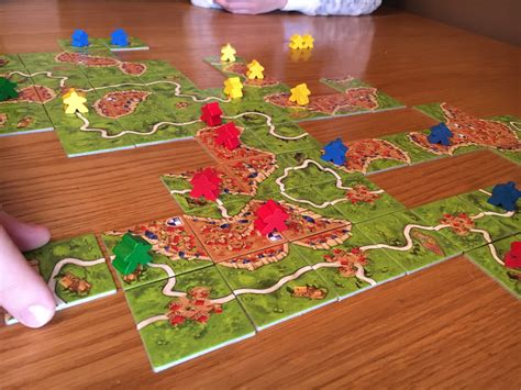 *Review* Carcassonne board game - Mummy Vs Work